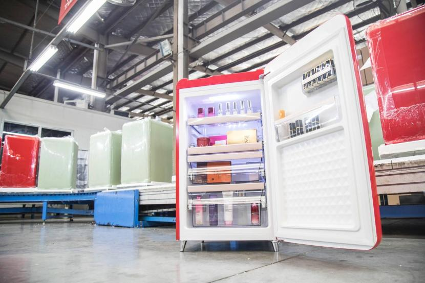 Cosmetic fridges become hot item among Chinese shoppers