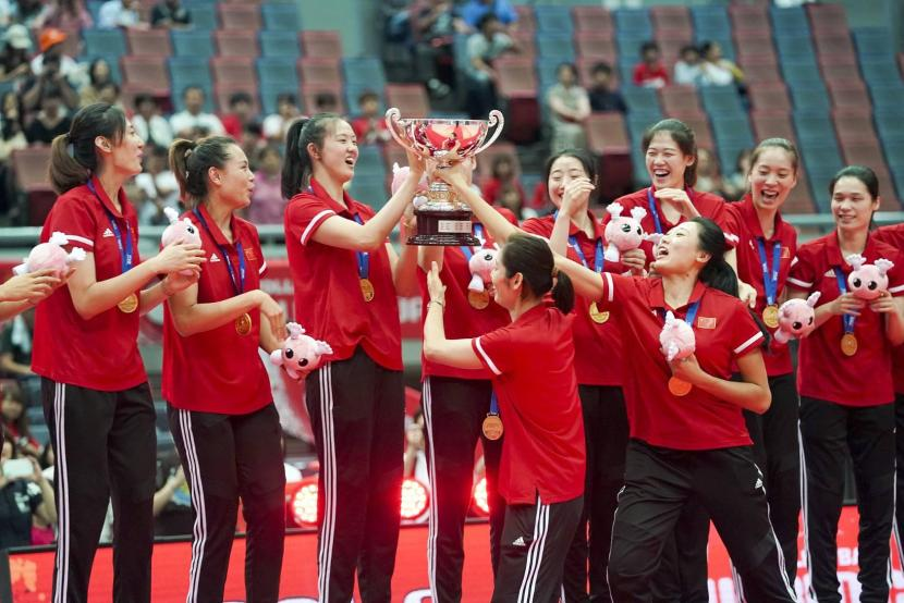 Why is the pay modest even for female volleyball players?