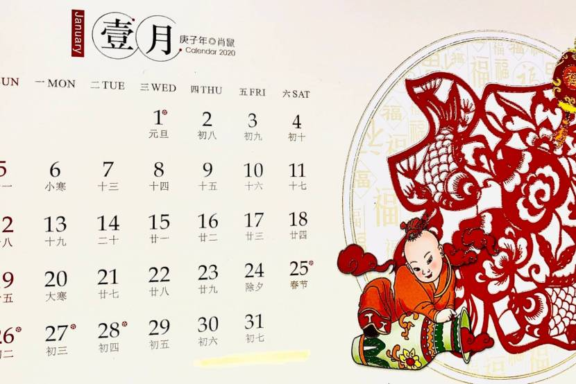 What's it like using the Chinese lunar calendar?