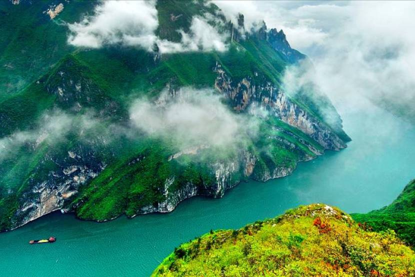 How many names does the Yangtze River have?
