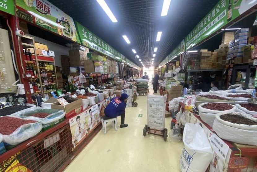 Beijing's major wholesale market suspended after personnel, surroundings test positive for COVID-19