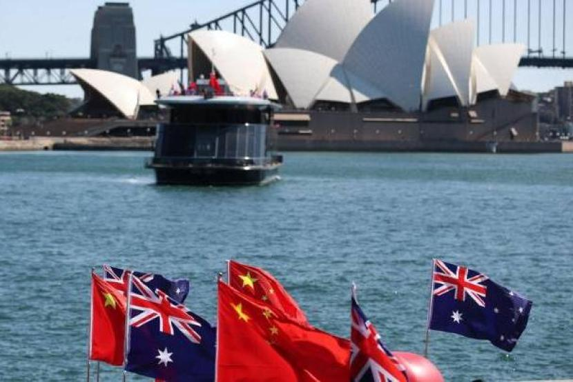 China urges Australia to stop harassing and suppressing Chinese personnel.