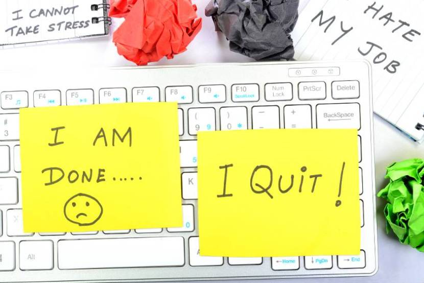 The truth of quitting without landing the next job